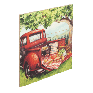 Truck Wall Plaque