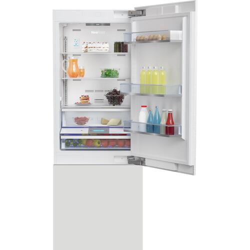 "30"" Built-In Bottom Freezer Refrigerator with Ice Maker"