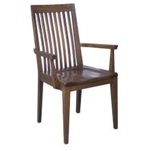 Model 80 Arm Chair Wood Seat
