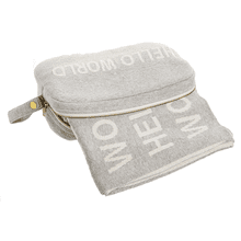 Hello World Travel Throw with Pouch (2 pc. set)