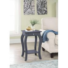 7092 GRAY Square Top End Table