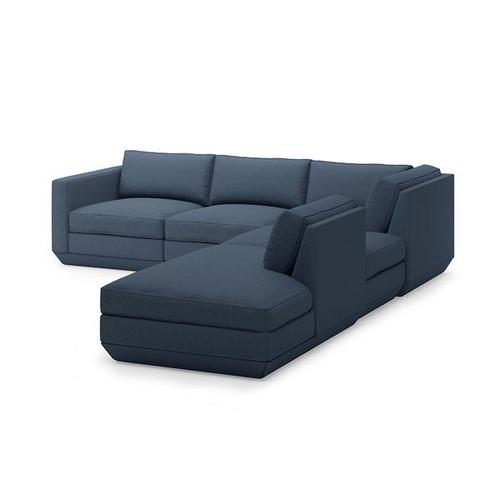 Product Image - Podium 5PC Seating Group A New Hanson Navy / Right Facing