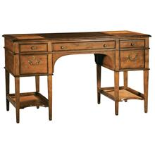 Leather Top Leg Desk