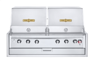 """48"""" Infinite Series Built-In Dual Dome Grill"""