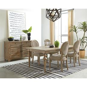 Sonora - Dining Table - Snowy Desert Finish