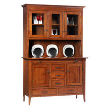 3-Door Newport Shaker Hutch & Buffet