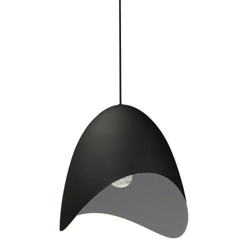 Product Image - 1lt Steel Pendant, Black Finish