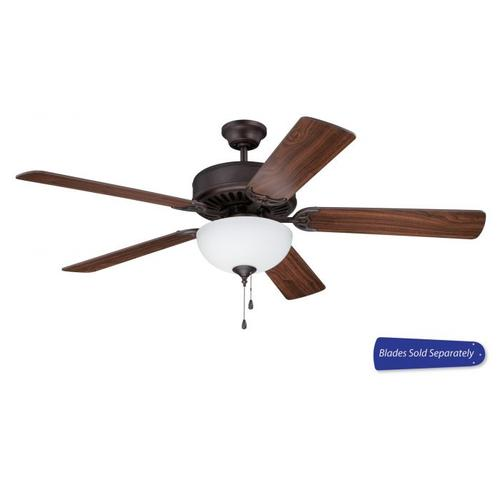 """C201ABZ - 52"""" Ceiling Fan with Light (Blades Sold Separately)"""