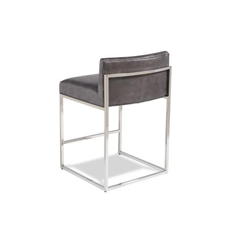 Maxwell Counter Stool -Nickel