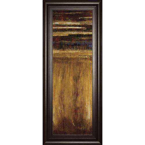 "Classy Art - ""Eruption Pompe II"" By Jardine Framed Print Wall Art"