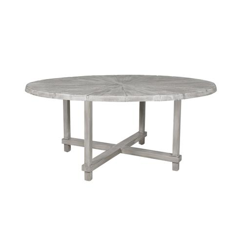 """Castelle - 60"""" Antler Hill Round Dining Table"""