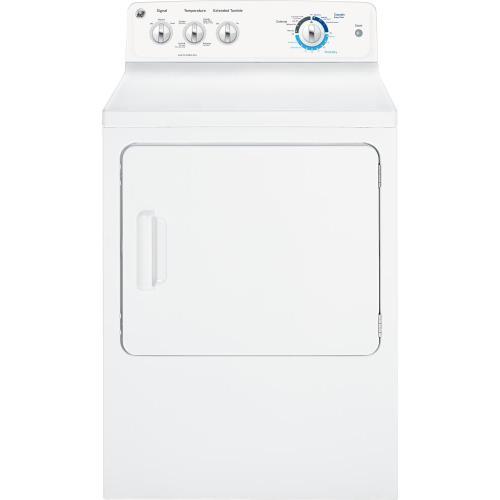 GE® Long Vent 7.0 cu. ft. capacity Dura Drum electric dryer