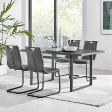 Product Image - Fenton and Gray Pacific 5 Piece Modern Rectangular Dining Set