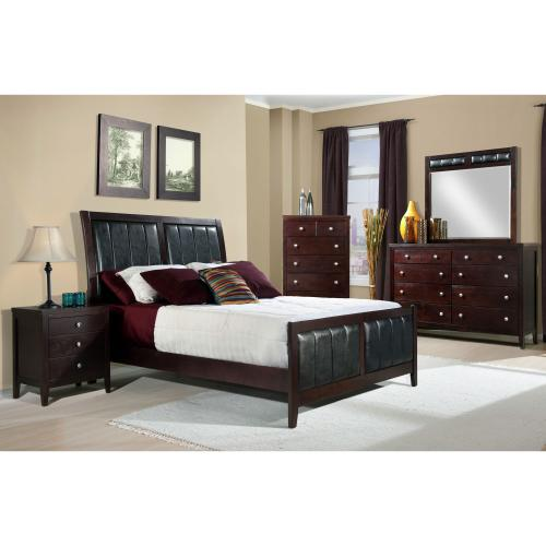 Lawrence King Panel Bed