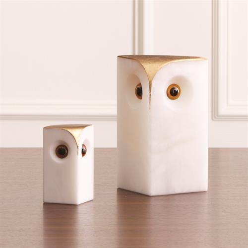 Alabaster Owl-Sm