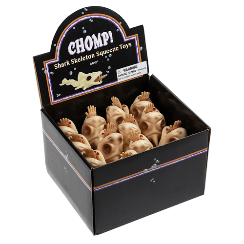 Chomp! Shark Skeleton Squeeze Toys (12 pc. ppk.)