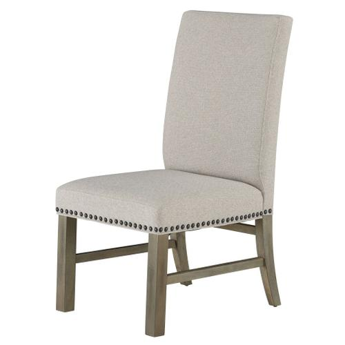 Standard Furniture - Trenton 2-Pack Upholstered Side Chairs, Sand