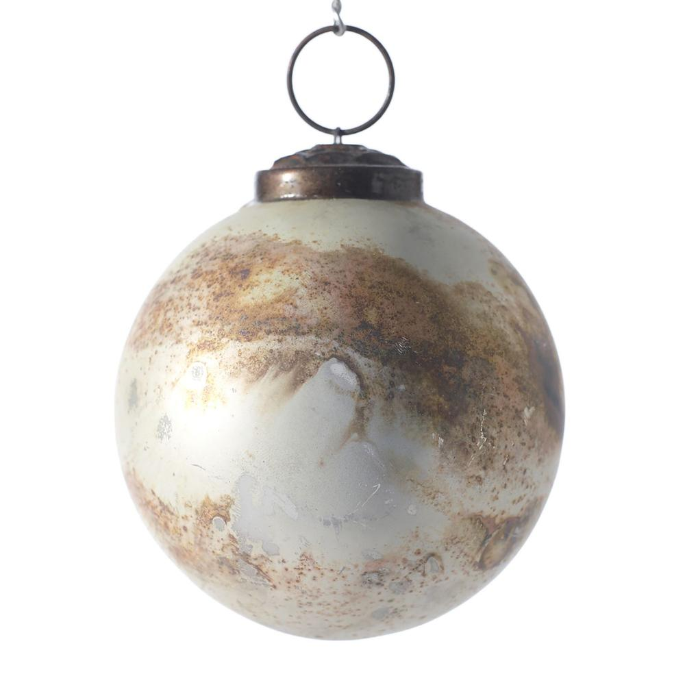 See Details - Eternal Ornament (Size:2.75'', Color:White)