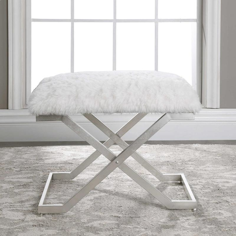 Farran Silver Small Bench