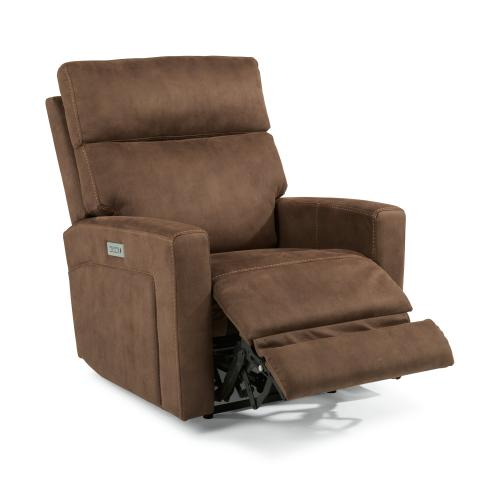 Ezra Power Recliner with Power Headrest & Lumbar