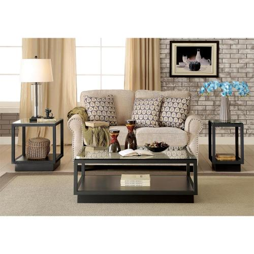 Kali - Chairside Table - Textured Black Finish