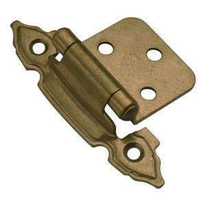 Surface Self-Closing Cabinet Hinge (2-Pack) Product Image