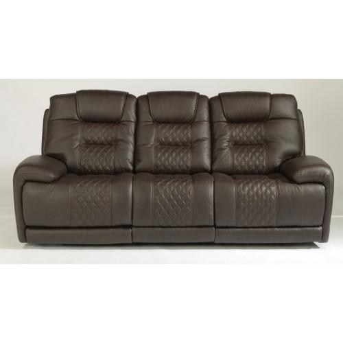 Royce Leather Power Reclining with Power Headrests
