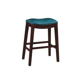 """See Details - Fiesta 30"""" Backless Bar Stool in Blue"""