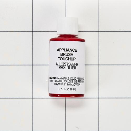 Appliance Touchup Paint Bottle, Passion Red - Other
