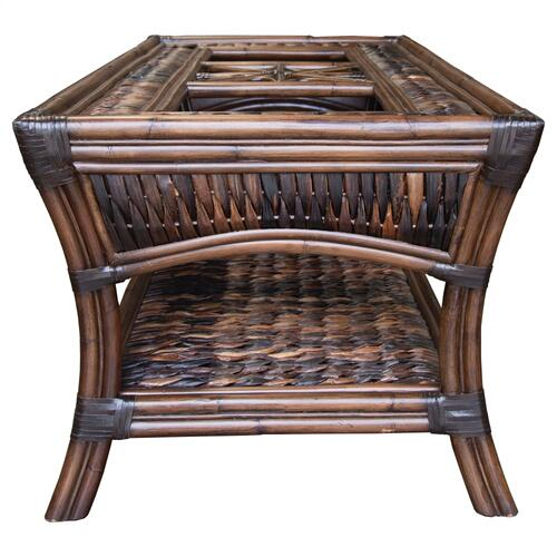 Coffee Table, Available in Seagrass Finish.