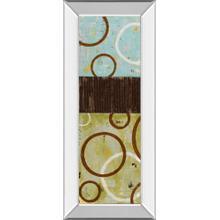 """""""Sun Flower I"""" By Natalie Avondet Mirror Framed Print Wall Art"""