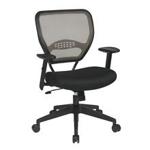 Deluxe Latte Airgrid Back Managers Chair