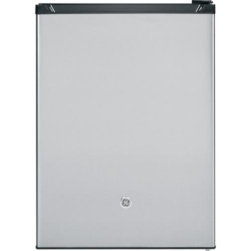 GE 5.6 Cu. Ft. Compact Refrigerator Stainless Steel GCE06GSHSB