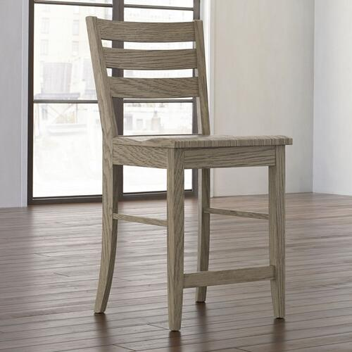 Bassett Furniture - Larson Oak Counter Stool
