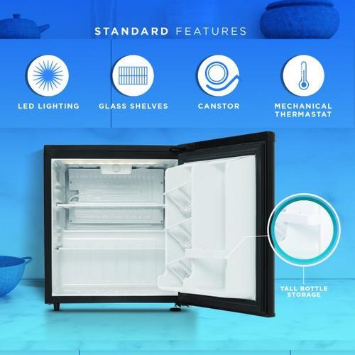 Danby - Danby 1.7 cu. ft. Contemporary Classic Compact Refrigerator
