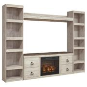 Willowton 4-piece Entertainment Center With Electric Fireplace Product Image