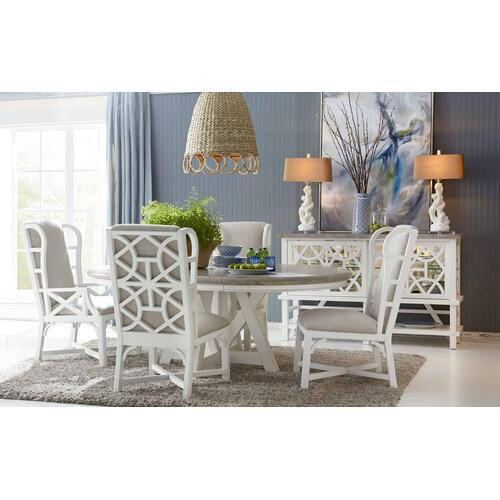 Summer Creek Snug Harbor Round Dining Table