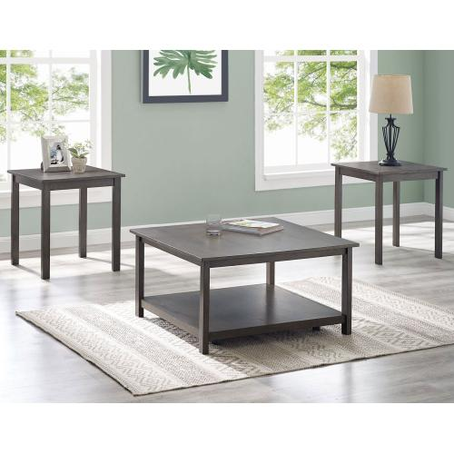 Heath 3-Pack Set (Pack Includes Cocktail & 2 End Tables)