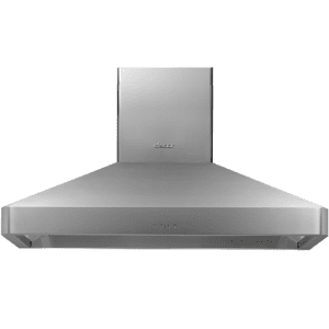 "Dacor48"" Chimney Island Hood, Silver Stainless Steel"