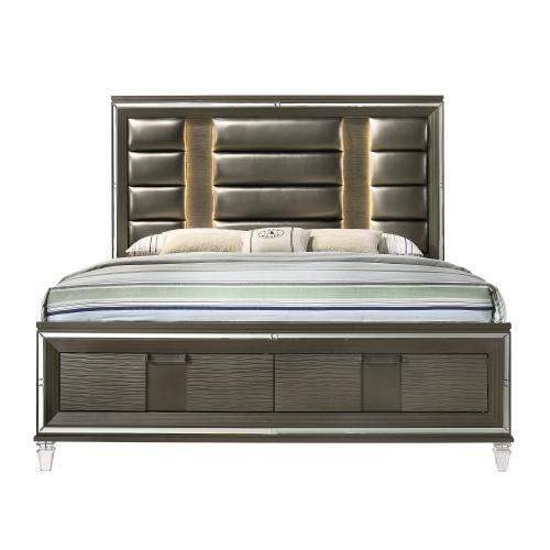 Twenty Nine 2-Drawer King Storage Bed