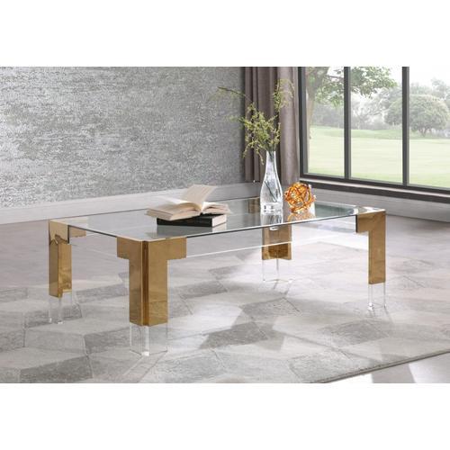 "Casper Rectangular Coffee Table - 47"" W x 29"" D x 16.5"" H"