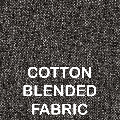 Updated Furniture - Iwan 2pc Sectional Sofa Set, Ash-black-cotton-blend