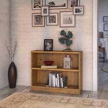 Universal Bookcases 2 Shelf Bookcase - Vintage Golden Pine