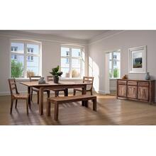 "Urban 72"" Dining Table Set With 24"" Butterfly Extension, HC1127S01"