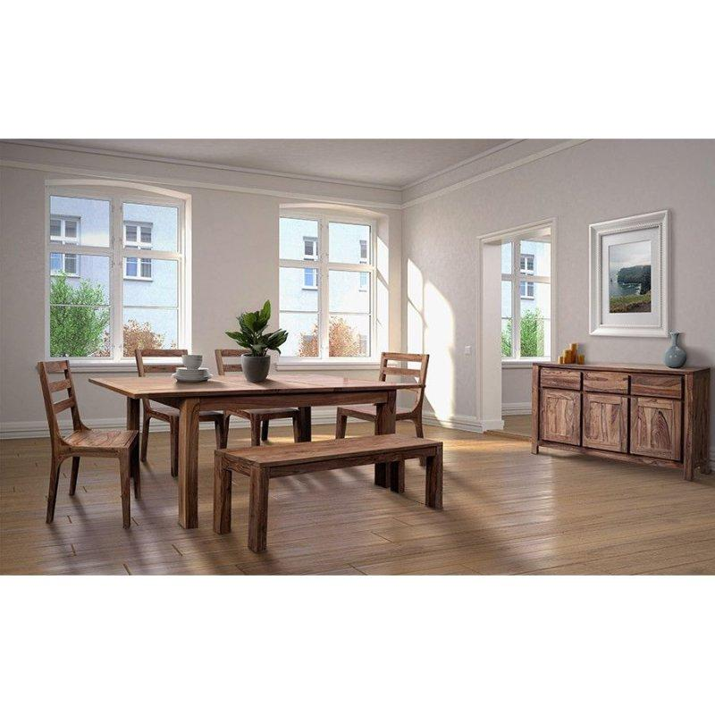 """Urban 72"""" Dining Table Set With 24"""" Butterfly Extension, HC1127S01"""