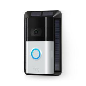 Video Doorbell 3 + Solar Charger - Satin Nickel