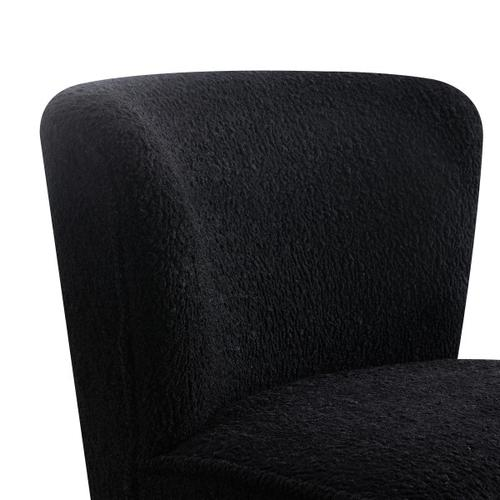 Armless Chair - Black