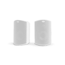 "ALL WEATHER OUTDOOR LOUDSPEAKERS WITH 5"" DRIVERS AND 3/4"" TWEETERS (PAIR) in White"