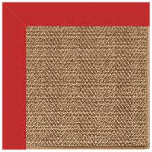 Islamorada-Herringbone Canvas Jockey Red