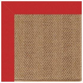 Islamorada-Herringbone Canvas Jockey Red